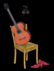 Spanish wines Torito Bravo - Spanish guitar